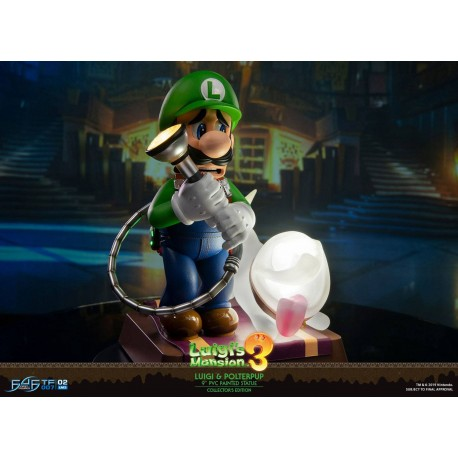 first 4 figure Luigi's mansion 3 - luigi figure standard edition