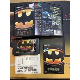 mega drive / genesis Batman Mega Lecteur Sega 281 Md boite / notice complet