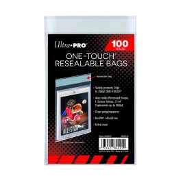 protection Ultra Pro Standard Sleeves - pca ou One Touch Resealable Bags (100 Bags)