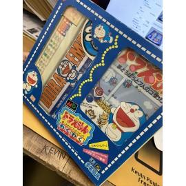 sega Doraemon Yume Dorobo to 7 nin no Gozansu Waku Waku Set Sega Megadrive Japan