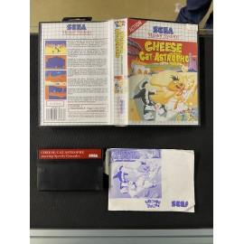 sega master system cheese cat astrophe speedy conzales boite / notice