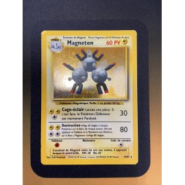 Pokemon card carte wizard set de base holo magneton 9/102