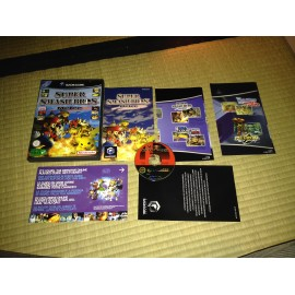 nintendo game cube / super smash bros melee / boite / notice / PAL/ FRANCAIS