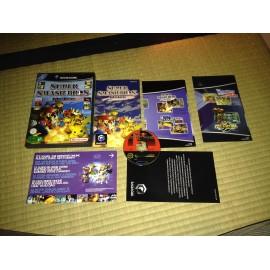 nintendo game cube / super smash bros melee / boite / notice / PAL/ FRANCAIS