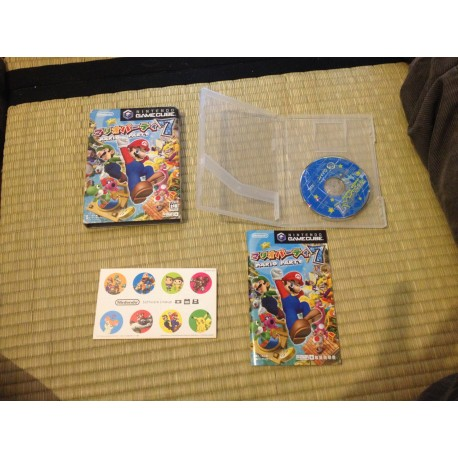 nintendo game cube / mario party 5 jap / boite / notice / PAL/ FRANCAIS