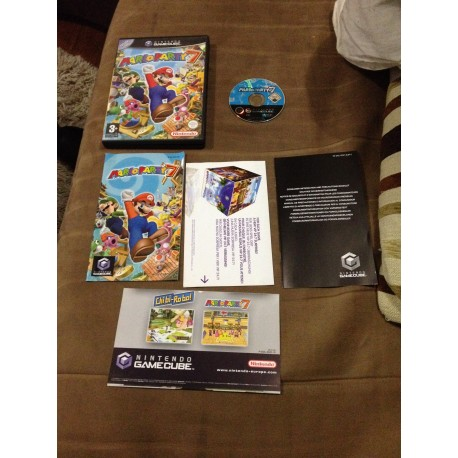 nintendo game cube / mario kart double dash rouge / boite / notice / PAL/ FRANCAIS