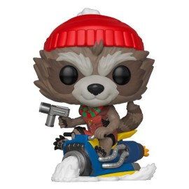 Funko POP! Marvel Holiday Figurine POP! Marvel Vinyl Rocket 9 cm