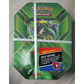pokemon POKEBOX francais BOX JUNGKO EX 4 BOOSTERS NEUF