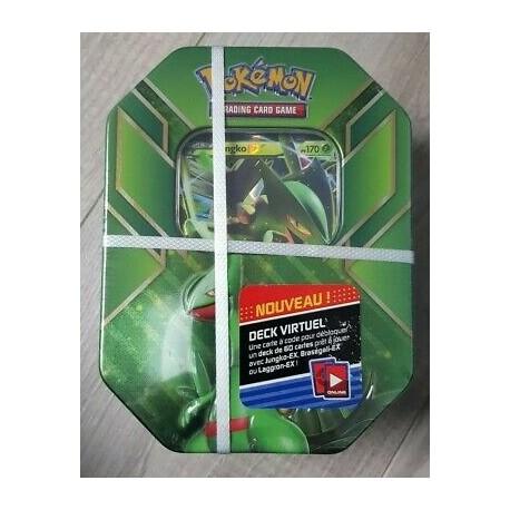 pokemon POKEBOX francais BOX BLINDÉPIQUE EX 4 BOOSTERS NEUF