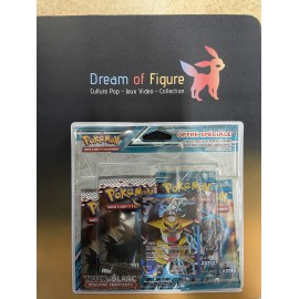 pokemon gift pack POKEBOX 5 boosters ex pikachu et moewth promo