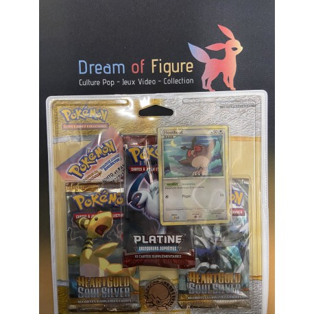 pokemon tri pack boosters francais diamant et perle / /platine porygon-Z