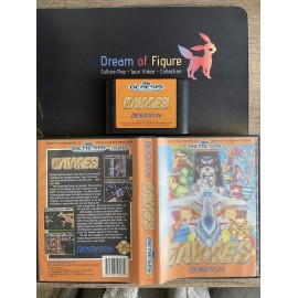 sega mega drive japan / Shadow Dancer The secret of Shinobi / boite