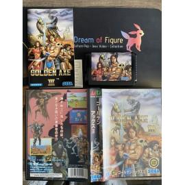 sega mega drive japan / JEWEL MASTER Sega 1851 / boite / notice