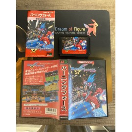 sega mega drive japan / Burning Force / boite / notice