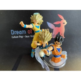 les 3 boo gashapon figurine figure dragon ball z imagination figure