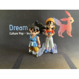 bulma goku gashapon figurine figure dragon ball z imagination figure