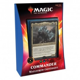 FRANCAIS MTG magic the gathering Decks - Commander 2020 - Maelstrom Esotérique