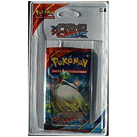 booster blister xy francais primo choc groudon