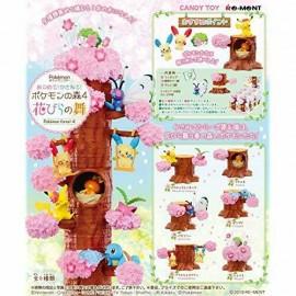 Pokemon Forest 4 PIKACHU Sakura 6pcs ensemble complet Candy Toy avec suivi NEUF