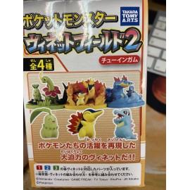 Takara Tomy A.R.T.S Pokemon germignon Héricendre Kaiminus Candy Toy