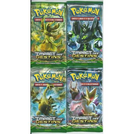 tripack Boosters Pokemon xy9 RUPTURE turbo x2 + ciel rugissant ou impact des destins en francais