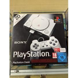 console plastation classic ps1 mini sony 20 jeux NEUF