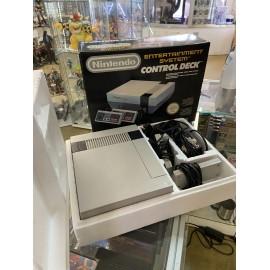 console NINTENDO NES control deck system SUPER etat avec poly