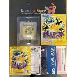 pocket monsters Nintendo game boy color POKEMON jaune yellow 黄 JAP