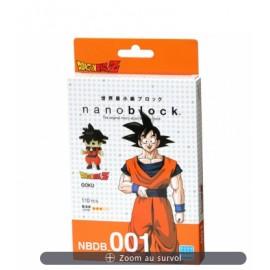 Nanoblock OFFICIEL Dragon Ball Z / Goku 001 / toei animation