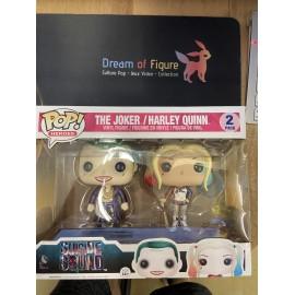 POP FUNKO Heroes -Le Joker plage Harley Quinn - 2 Pack-