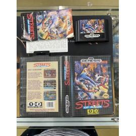 SEGA retro gaming MEGA DRIVE MEGADRIVE streets of rage boite / notice