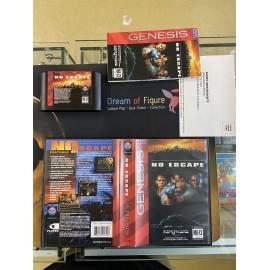 SEGA retro gaming gEnesis MEGADRIVE no escape boite / notice