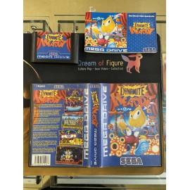 SEGA retro gaming gEnesis MEGADRIVE x-men 2 boite / notice