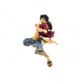 BANPRESTO Figurine One Piece - The Bound Man Monkey D Luffy King Of Artist 14cm