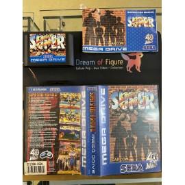 SEGA retro gaming MEGADRIVE street fighter II boite / notice