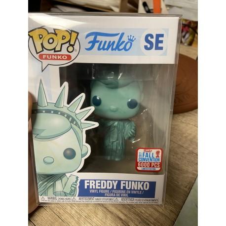 Funko Pop Freddy Funko SE STATUE LIBERTE NYCC 2017 Limited Edition FALL CONVENTION 2017 6000PCS