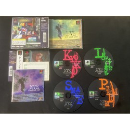 jeux playstation japanese boite notice EVE The Lost One