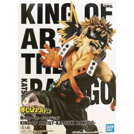 banpresto Bandai My Hero Academia King Of Artist - Katsuki Bakugo - Figure