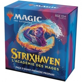 FRANCAIS Magic the Gathering Strixhaven l'Académie des Mages Pack d'Avant Première Prismari
