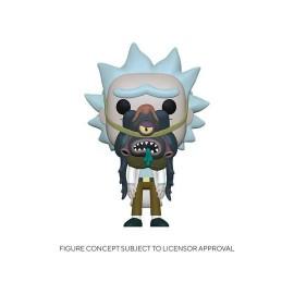 Rick & Morty POP! Animation Vinyl figurine Morty w/ Glorzo 9 cm