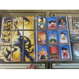 cartes dragon ball Z collection topps memorial photo version 1989 PANINI