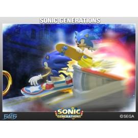 FIRST 4 FIGURE Sonic Generations Diorama RESIN STATUETTE
