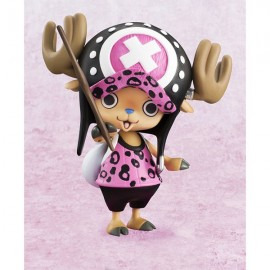 ONE PIECE P.O.P pop MEGAHOUSE tony tony Chopper pink Leopard Ver PROMO