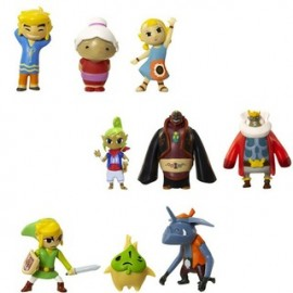 MINI FIGURINES SERIE WORLD OF NINTENDO ZELDA MICRO LAND