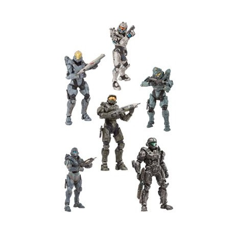 Halo 5 Guardians assortiment figurines 15 cm Best Of