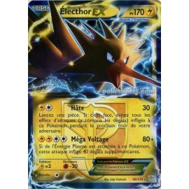 carte Pokemon ELECTHOR EX 48/135 TEMPETE PLASMA no display no booster