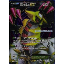 carte Pokemon giratina ex full art 124/124 dragons exaltes no display no booster