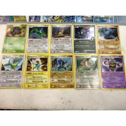 lot cartes Pokemon 10 cartes rare HOLO sans double lot n 27