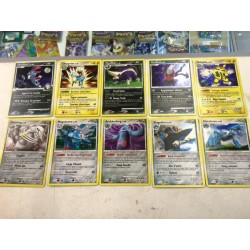 lot cartes Pokemon 10 cartes rare HOLO sans double lot n 30