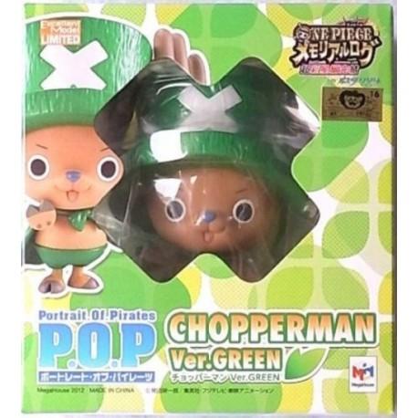 ONE PIECE P.O.P pop MEGAHOUSE tony tony CHOPPERMAN CHOPPER BLUE